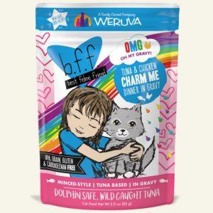 即食湯包 Weruva B.F.F. 喵友系列 野生吞拿魚、雞肉 袋裝貓糧 (藍袋) 85g 寵物用品店推薦
