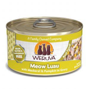 罐頭食品 WeRuVa 經典海鮮系列 野生鯖魚、南瓜 貓罐頭 寵物用品店推薦