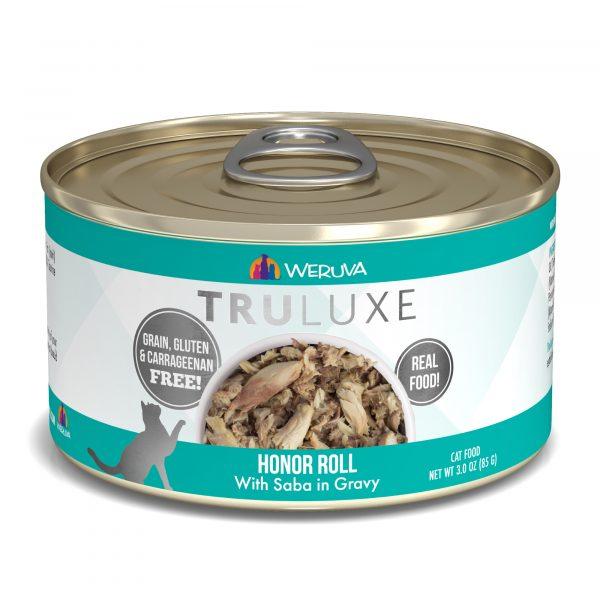 罐頭食品 WeRuVa 尊貴系列 野生鯖魚、魚湯 貓罐頭 寵物用品店推薦