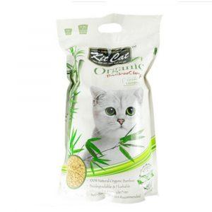 貓用產品 Kit Cat 長毛貓配方 有機竹子貓砂 寵物用品店推薦