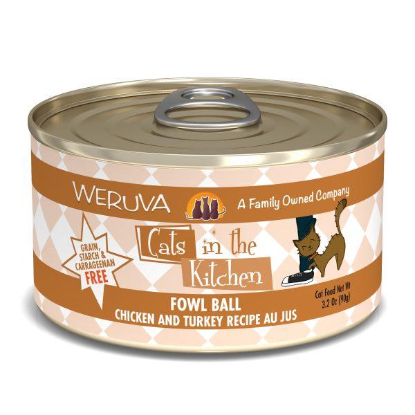 罐頭食品 WeRuVa 廚房系列 雞湯、無骨去皮雞肉、火雞 貓罐頭 寵物用品店推薦