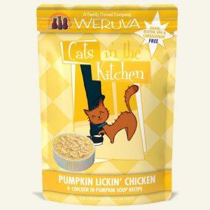 即食湯包 WeRuVa 廚房系列 雞肉、南瓜、美味肉汁 袋裝貓糧 85g 寵物用品店推薦