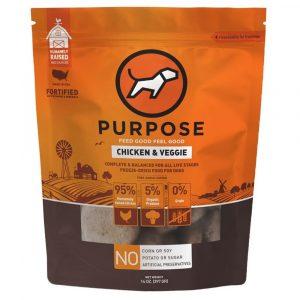 凍乾糧 Purpose 凍乾脫水生肉 狗主糧 (雞肉) 14oz 寵物用品店推薦