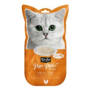 小食 Kit Cat Purr Puree Plus 皮膚護理 養生雞肉醬 60g 寵物用品店推薦