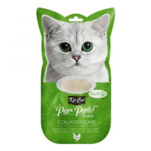 小食 Kit Cat Purr Puree Plus 膠原蛋白 養生雞肉醬 60g 寵物用品店推薦