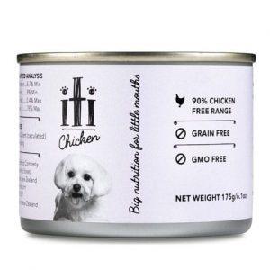 狗用糧食 ITI 紐西蘭天然無穀物(雞肉) 狗罐頭 175G 寵物用品店推薦