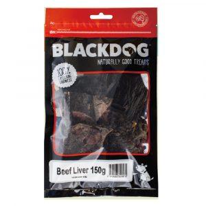 小食 BLACK DOG 高蛋白牛肝 150g 寵物用品店推薦