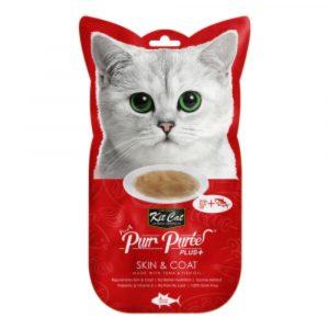 小食 Kit Cat Purr Puree Plus 皮膚護理 養生吞拿魚肉醬 60g 寵物用品店推薦