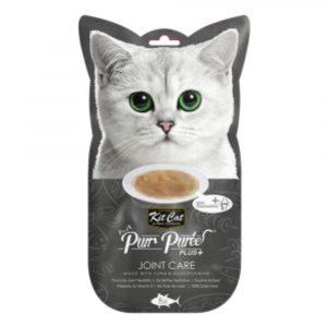 小食 Kit Cat Purr Puree Plus 關節護理 養生吞拿魚肉醬 60g 寵物用品店推薦