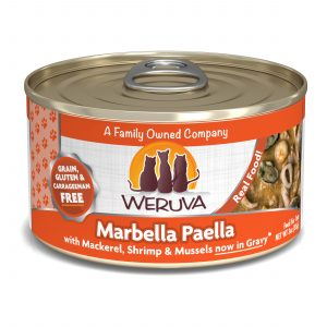 罐頭食品 WeRuVa 經典海鮮系列 野生鯖魚、海蝦 貓罐頭 寵物用品店推薦