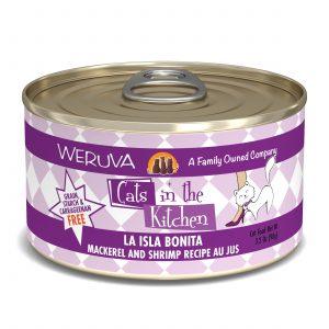 罐頭食品 WeRuVa 廚房系列 鯖魚、蝦、美味肉汁 貓罐頭 寵物用品店推薦