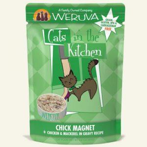 即食湯包 WeRuVa 廚房系列 鯖魚、走地雞、美味肉汁 袋裝貓糧 85g 寵物用品店推薦