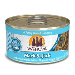罐頭食品 WeRuVa 經典海鮮系列 野生鯖魚及鏗魚 貓罐頭 寵物用品店推薦
