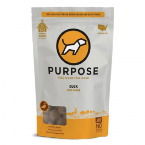 小食 Purpose 凍乾脫水 貓狗小食 (鴨丁) 2.5oz 寵物用品店推薦