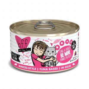 罐頭食品 Weruva B.F.F. 喵友系列 野生吞拿魚、鏗魚 貓罐頭 (粉紅罐) 寵物用品店推薦