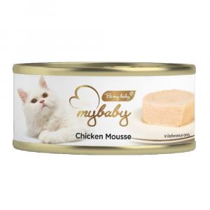 罐頭食品 Be My Baby Chicken Mousse 雞肉慕絲 85g 寵物用品店推薦