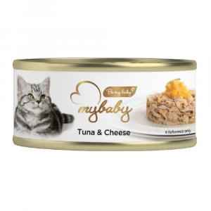 罐頭食品 Be My Baby Tuna & Cheese 吞拿魚&芝士 85g 寵物用品店推薦