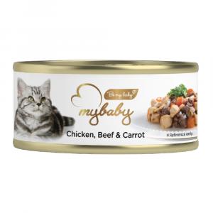 罐頭食品 Be My Baby Chicken, Beef & Carrot 雞肉, 牛肉&胡蘿蔔 85g 寵物用品店推薦