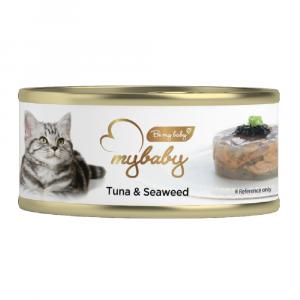 罐頭食品 Be My Baby Tuna & SeaWeed 吞拿魚&海藻 85g 寵物用品店推薦