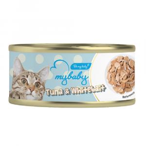 罐頭食品 Be My Baby Tuna & Whitebait 吞拿魚&白飯魚 85g 寵物用品店推薦