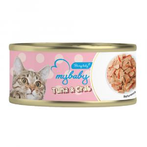 罐頭食品 Be My Baby Tuna & Crab 吞拿魚&蟹柳 85g 寵物用品店推薦