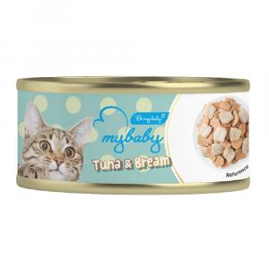 罐頭食品 Be My Baby Tuna & Bream 吞拿魚&鯛魚 85g 寵物用品店推薦