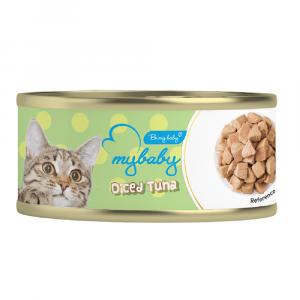 罐頭食品 Be My Baby Diced Tuna 角切吞拿魚 85g 寵物用品店推薦