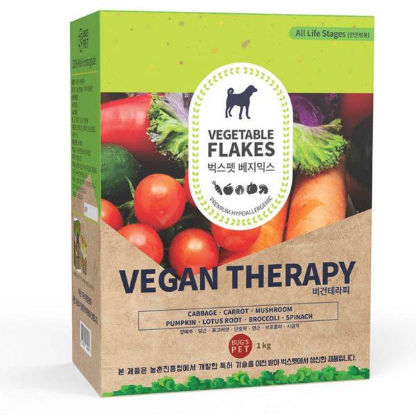 狗用產品 Bugs-Pet Vegan Therapy 良伴蔬菜薄片 250g 寵物用品店推薦