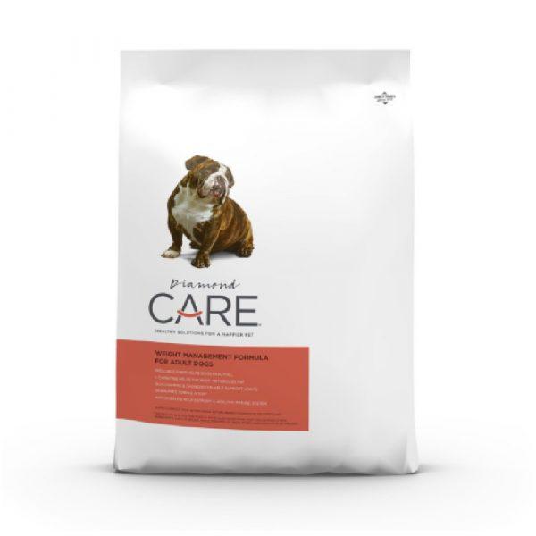 乾糧 Diamond Care Weight Management Formula for Adult Dogs 體重控制配方(成犬糧)8lbs 寵物用品店推薦