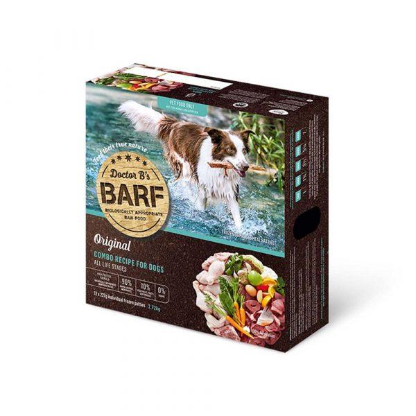 急凍糧食 Dr. B 急凍狗糧 – 四寶肉蔬菜 (12片) 寵物用品店推薦