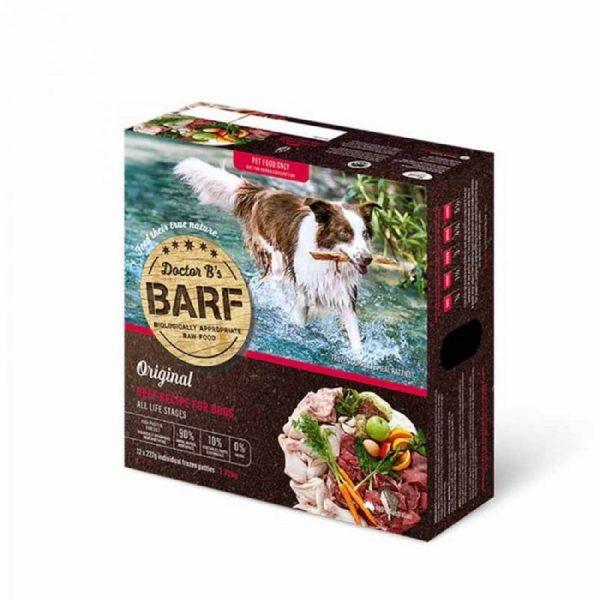 急凍糧食 Dr. B 急凍狗糧 – 牛肉蔬菜 (12片) 寵物用品店推薦