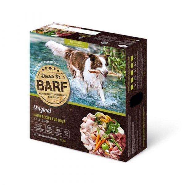 急凍糧食 Dr. B 急凍狗糧 – 羊肉蔬菜 (12片) 寵物用品店推薦