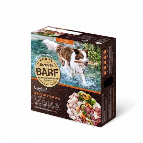 急凍糧食 Dr. B 急凍狗糧 – 雞肉蔬菜 (12片) 寵物用品店推薦