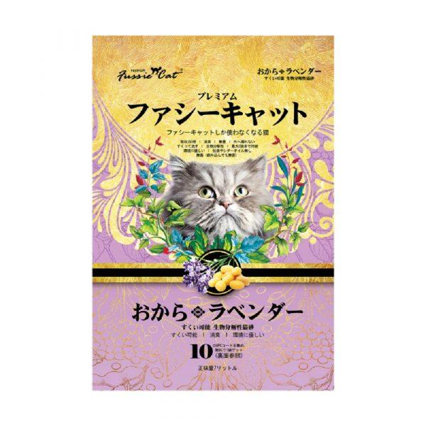 貓用產品 高竇貓 Fussie Cat Premium Soybean Litter (Lavender) 豆腐貓砂(薰衣草味)7L 寵物用品店推薦