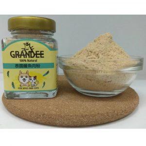 狗用產品 Grandee 泰國鱷魚肉粉 40G 寵物用品店推薦