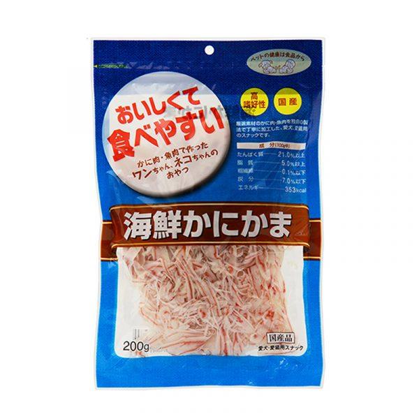 小食 Asuku HDC Kanikama Slice 海鮮魚絲 寵物用品店推薦