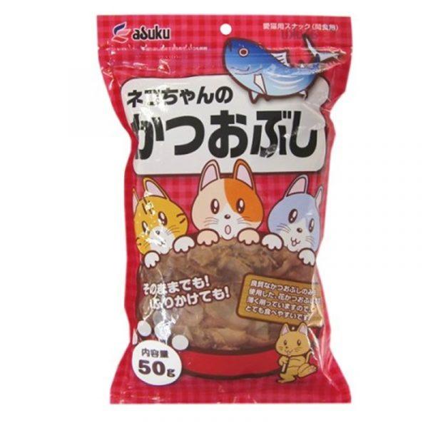 小食 Asuku Dried Bonito 鰹魚絲 65g 寵物用品店推薦