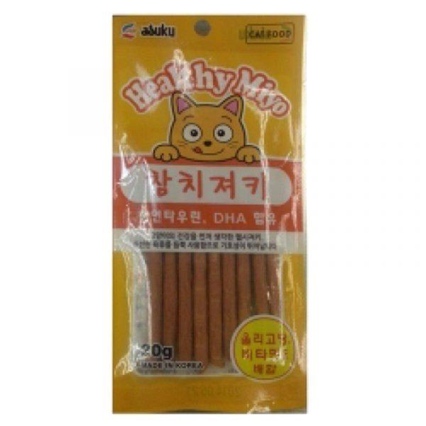 小食 Asuku Healthy Miyo 魚肉條(吞拿魚)20g 寵物用品店推薦