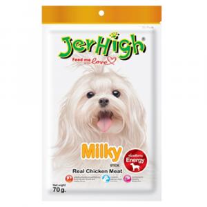 小食 Jerhigh 高蛋白低脂狗小食 牛奶條 寵物用品店推薦