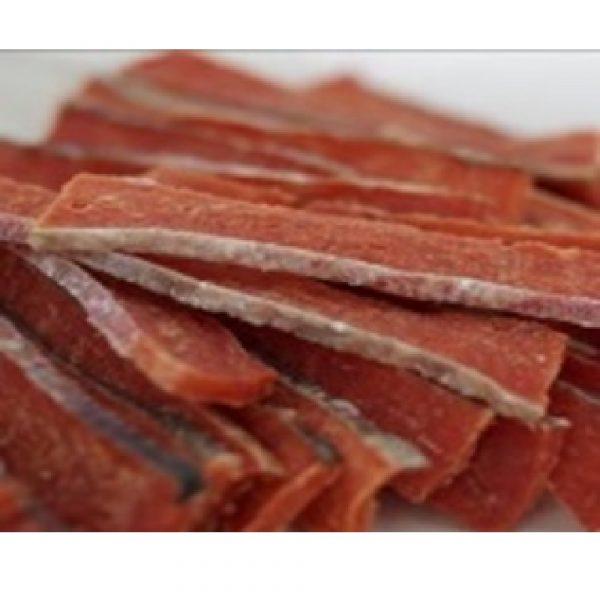 小食 Salmon4pets 三文魚厚切寬長條 70g 寵物用品店推薦