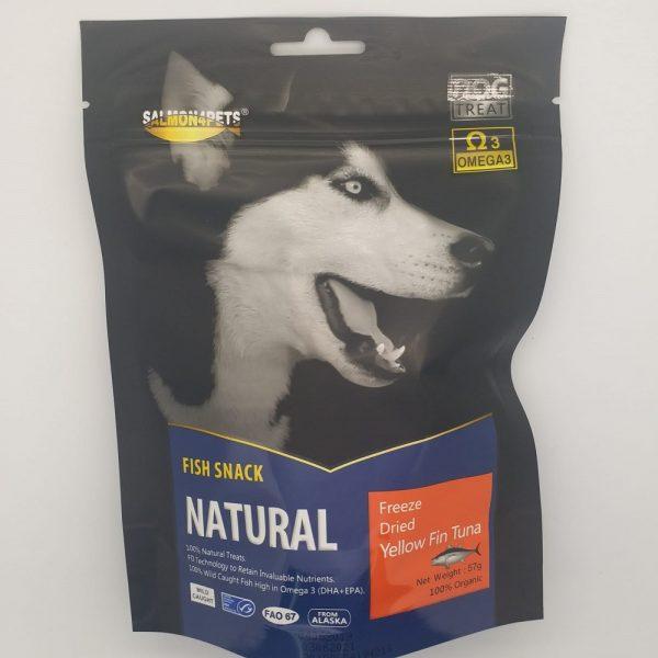 小食 Salmon4pets 犬用脫水吞拿魚 57g 寵物用品店推薦