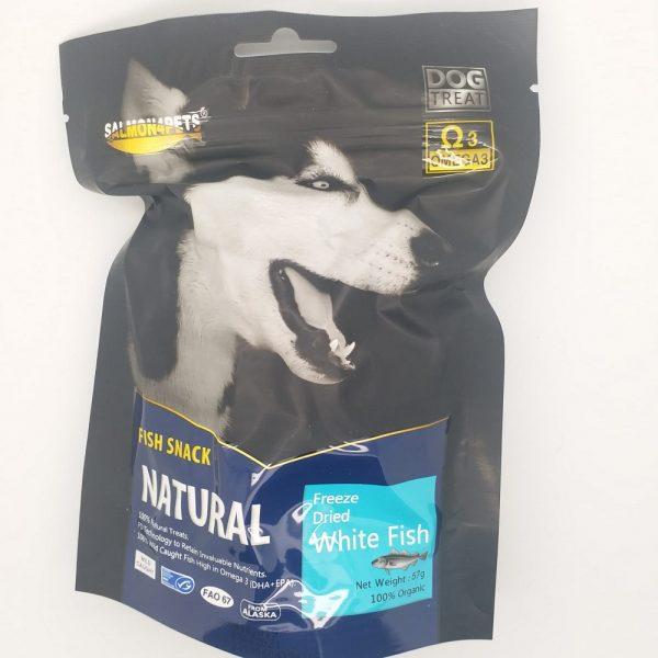 小食 Salmon4pets 犬用脫水鱈魚 57g 寵物用品店推薦
