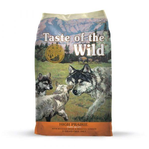 乾糧 Diamond Taste of the Wild High Prairie Puppy Recipe with Roasted Bison & Roasted Venison 無穀物 烤野牛+烤鹿肉幼粒配方(全犬糧) 寵物用品店推薦