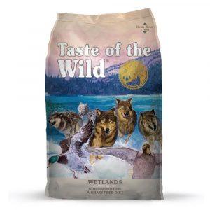 乾糧 Diamond Taste of the Wild Wetlands Canine Recipe with Roasted Fowl 無穀物 鴨肉配方(成犬糧) 寵物用品店推薦