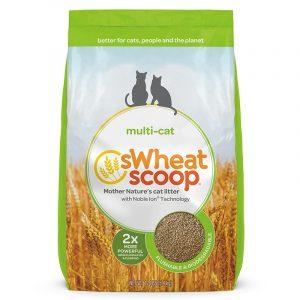貓用產品 sWheat Scoop 小麥貓砂 Multi-cat 兩倍天然強效小麥貓砂 寵物用品店推薦