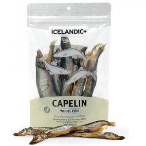 小食 Icelandic+ 冰島原隻羊角 冰島原條多春魚狗小食 2.5oz 寵物用品店推薦