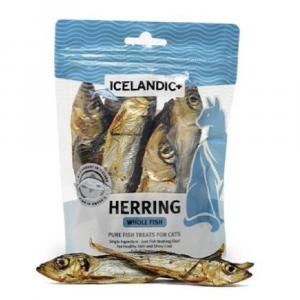 小食 Icelandic+ 冰島原隻羊角 冰島原條鯡魚貓小食 1.5oz 寵物用品店推薦