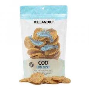 小食 Icelandic+ 冰島原隻羊角 冰島鱈魚片狗小食 2.5oz 寵物用品店推薦
