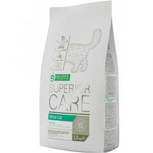 乾糧 Nature's Protection 去淚痕美毛配方貓糧 (雞、火雞、鴨) 1.5kg 寵物用品店推薦