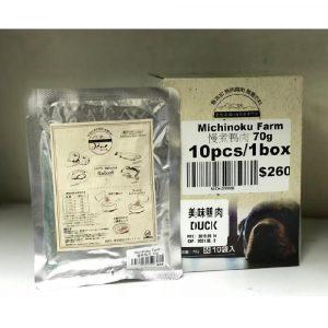 即食湯包 Michinoku Farm 慢煮鴨肉 70g 寵物用品店推薦